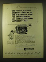 1966 Chrysler 80 Inboard-Outdrive Motor Ad - What fits in 14, 15, 16-foot