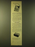 1959 Neutrogena Soap Ad - You're never too young to know… beauty is skin-deep