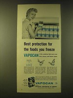 1956 Container Corporation of America Vapocan Ad - Best protection