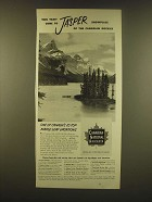 1952 Canadian National Railways Ad - This year come to Jasper Showplace