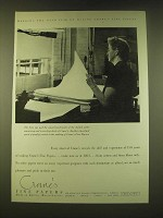 1951 Crane's Fine Papers Ad - Marking the 150th year