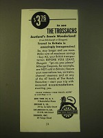 1951 British Railways Ad - to see the Trossachs