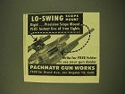 1950 Pachmayr Gun Works Ad - Lo-Swing Scope Mount
