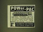 1950 Pachmayr Gun Works Ad - Packed with Power Power-Pac Shot Control