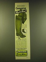 1949 Converse Rod & Reel and Snugankle Boots Ad - America's favorite