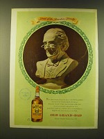 1947 Old Grand-Dad Bourbon Ad - The Bourbon family
