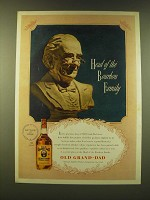 1947 Old Grand-Dad Bourbon Ad