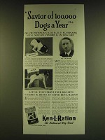 1939 Ken-L-Ration Dog Food Ad - Savior of 100,000 dogs a year