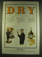 1938 Paul Jones Whiskey Ad - Dry