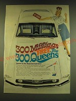 1966 Crest Toothpaste and Head and Shoulders Shampoo Ad - 300 Mustangs free
