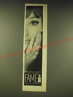 1963 Corday Fame Perfume Ad - Anything can happen when you wear Fame
