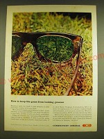 1962 Connecticut General Insurance Ad - How to keep the grass from looking