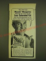 1962 Mazola Margarine Ad - My wife buys Mazola Margarine