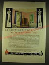 1936 Sherwin-Williams Paints Ad - Rockwell Kent Ad - Beauty  and Protection
