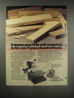 1990 Delta Plate Joiner Ad - It always pays to be well-connected