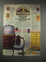 1990 Formby's Furniture Refinisher, Poly Finish and Paint Remover Ad
