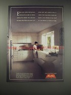 1990 Merillat Kitchen Cabinets Ad - Enter a new world of self-expression