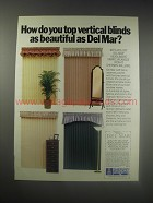 1990 Sherwin-Williams Del Mar Headliners Fabric Valances Ad - How do you top