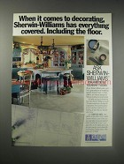1990 Sherwin-Williams Armstrong Solarian Floors Ad