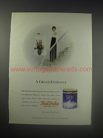 1990 True Value Ultra Satin Paint Ad - A Grand Entrance