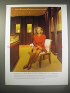 1990 SwissAir Airlines Ad - Swissair Customer portrait 69