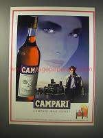 1990 Campari Liqueur Ad (in German) - Campari was sonst