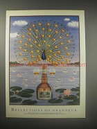 1990 Grand Marnier Ad - Reflections of Grandeur