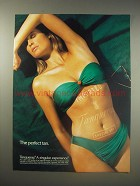 1990 Tanqueray Gin Ad - The perfect tan