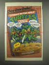 1990 Ralston Teenage Mutant Ninja Turtles Cereal Ad - Chow down dudes!