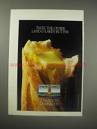 1990 Land O Lakes Unsalted Butter Ad - Taste the other Land O Lakes Butter