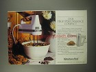 1990 KitchenAid Hand Mixer Ad - Our high performance compact