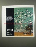 1990 Gracie Oriental Wallpapers, Art & Antiques Ad - The mellow tones