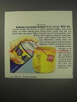 1990 WD-40 Lubricant Ad - Almost everyone knows how handy WD-40 can be