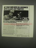 1990 Foley-Belsaw Co. Ad - Be your own boss in a business with clear-cut profits
