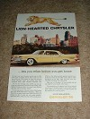1959 Chrysler New Yorker 4-door Hardtop Ad!!!