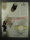 1991 Ebel 1911 Watch Ad - The architects of time