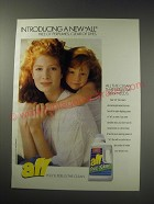 1991 All Free Clear Detergent Ad - Introducing a new All free of perfumes