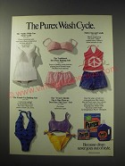 1991 Purex Detergent Ad - The Purex Wash Cycle