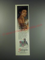 1991 Swisspers Premium Cotton Rounds Ad - are taking off