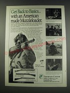 1991 Thompson / Center Muzzleloaders Ad - Hawken, Renegade and New Englander