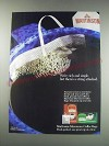 1991 Martinson Microwave Coffee Bags Ad - We're rich and single