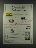 1991 Land O Lakes Butter Ad - with our catalog you can convert pounds