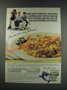 1991 StarKist Tuna Ad - recipe for Charlie's Tuna Mac and Cheese
