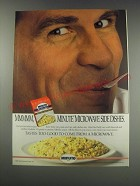 1991 Minute Microwave Side Dishes Ad - Mmmmm