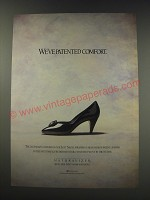 1991 Naturalizer Shoes Ad - We've patented comfort