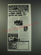 1991 Foley-Belsaw Institute Ad - small engine service