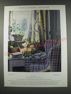 1991 Osborne & Little Fabrics and Wallpapers Ad - Designers Guild