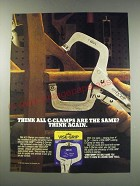 1991 Vise-Grip Locking C-Clamps Ad - Think all C-clamps are the same?