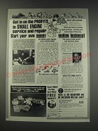 1991 Foley-Belsaw Institute Ad - Get in on the profits in small engine service