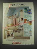 1991 True Value Tru-Test Paint and Stain Ad - You can do it